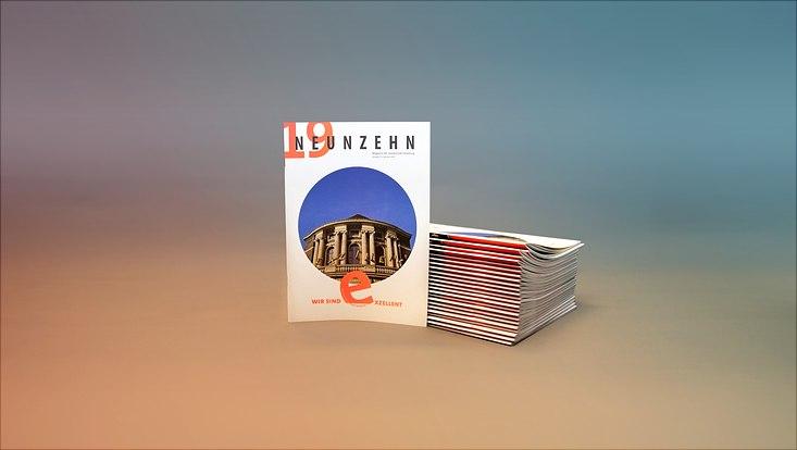 Cover der neuen Magazinausgabe