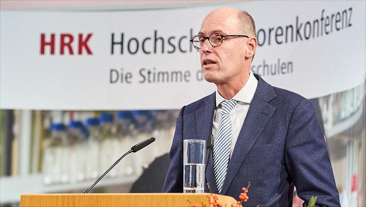 HRK-Präsident Peter-André Alt