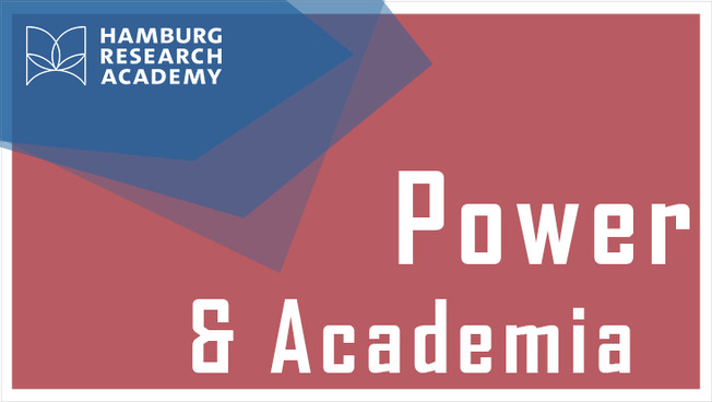 "Plakat ""Power & Academia"""