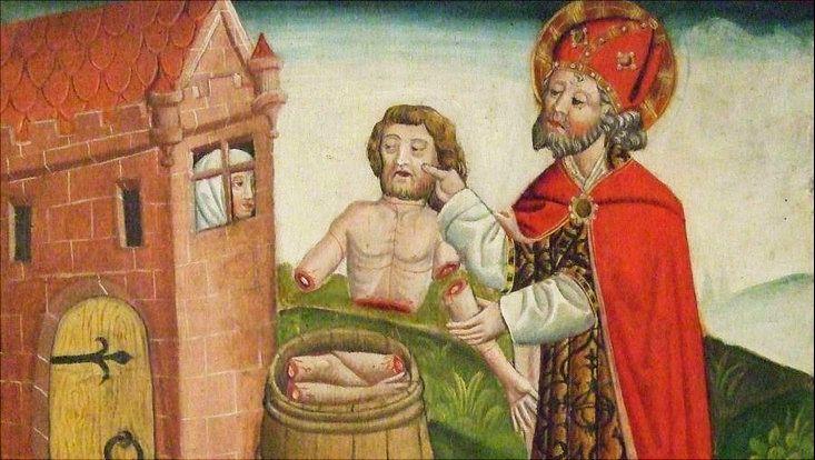 Kirchenbild vom Nikolaus