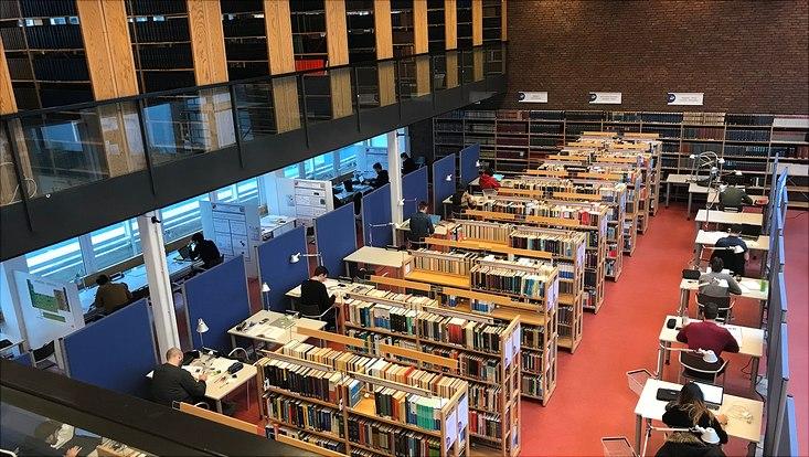 Bibliothek im Fachbereich Chemie