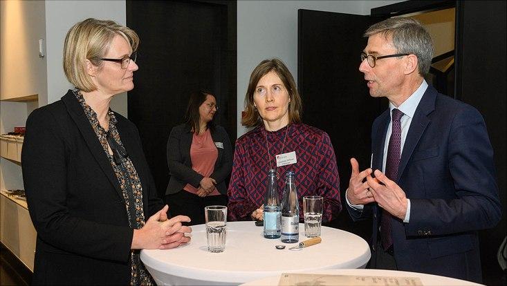 Besuch Bundesforschungsministerin Anja Karliczek