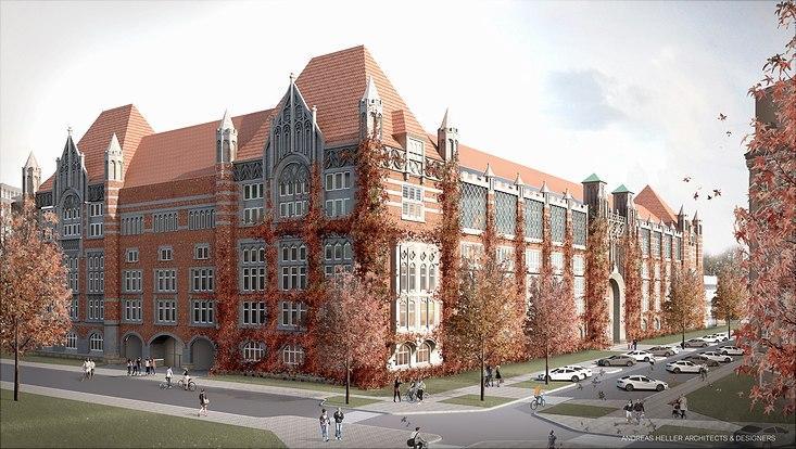 Visualisierung Campus Schlüterstraße