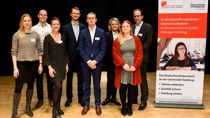Stipendiaten des Deutschlandstipendiums an der Universität Hamburg 2020