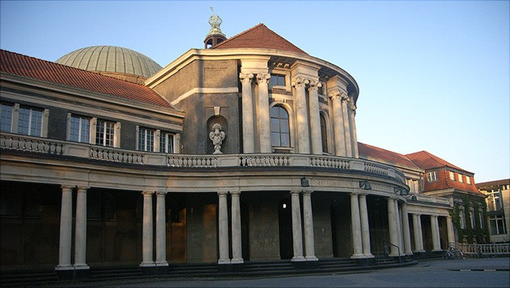 Das Hauptgebäude der Universtität Hamburg.