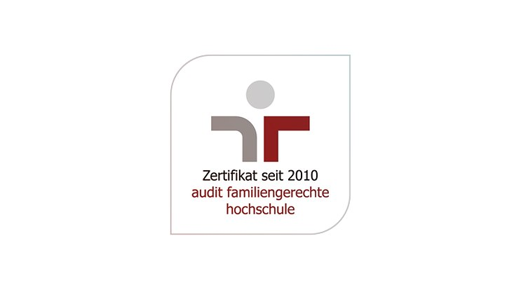 Zertifikat Audit familiengerechte Hochschule