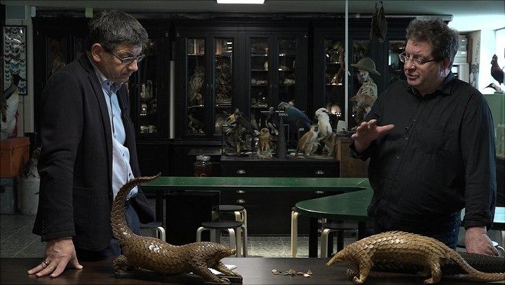 Prof. Dr. Matthias Glaubrecht und Daniel Bein