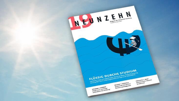Cover der neuen Ausgabe der 19NEUNZEHN