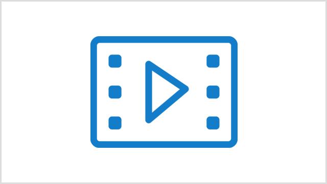 Icon, das ein Video zeigt