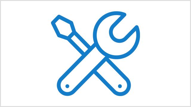 Icon, das Werkzeuge zeigt