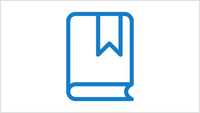 Icon, das ein Buch zeigt