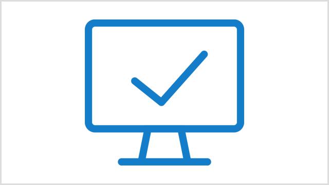 Icon, das einen Computer zeigt