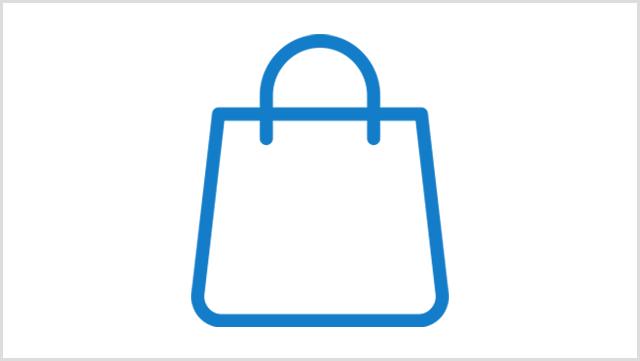 Icon, das eine Tasche zeigt