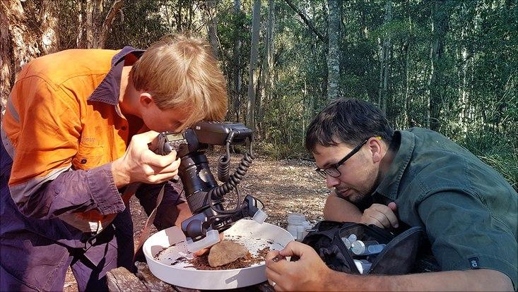 Danilo Harms auf Expedition in Australien