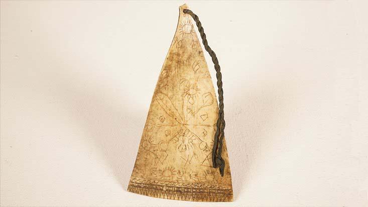 Kunstwerk der Toba-Batak