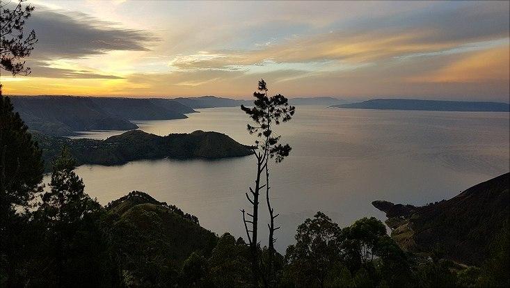 Morgenstimmung am Lake Toba
