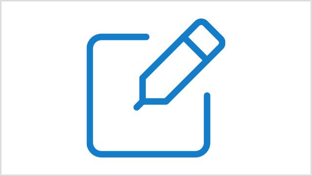 Icon, das einen Stift zeigt