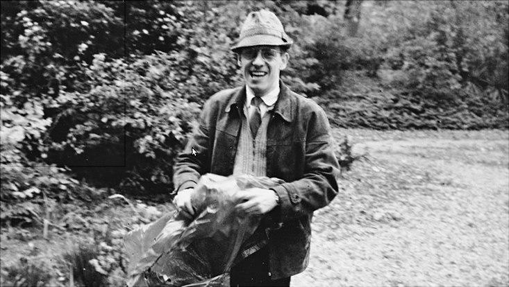 Foucault, fotografiert von seinem Studenten Jürgen Schmidt-Radefeldt