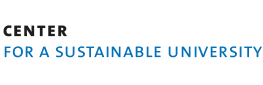 "Logo ""Center for a Sustainable University"""