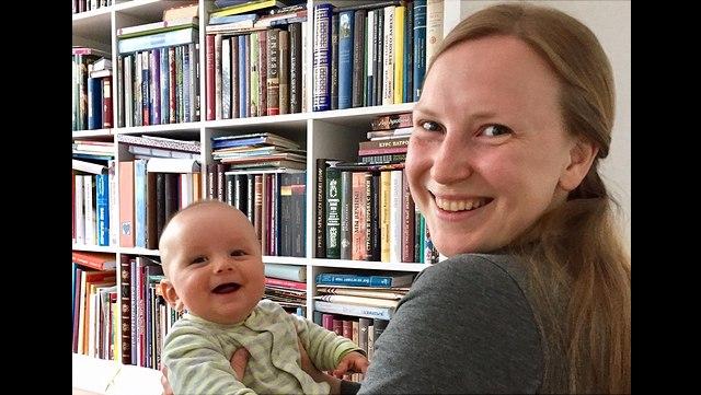 Bild Nastassia und Baby