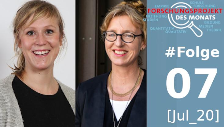 Luise Krejcik und Prof. Dr. Anke Grotlüschen