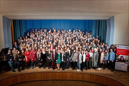 Gruppenbild Verleihfeier 2019