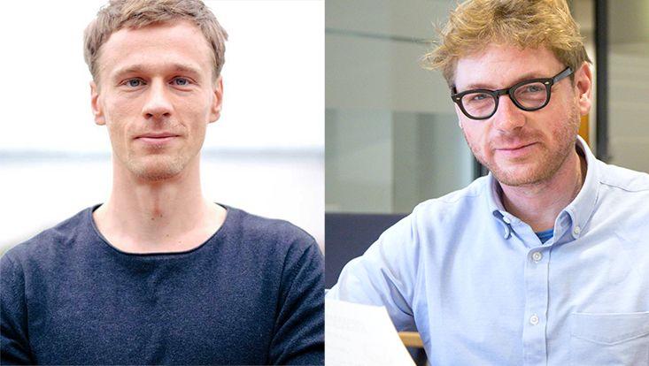 Portraits Dr. Jakob Koscholke (left) and Dr. Rogier Gerrits