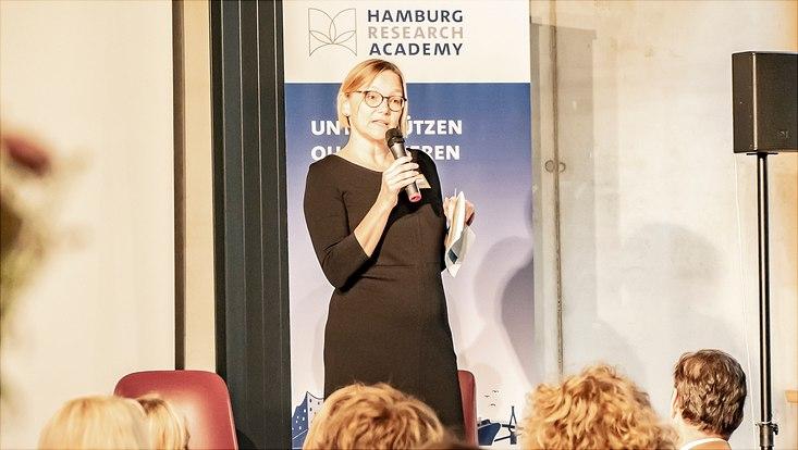 Prof. Dr. Miriam Beblo beim HRA-Karrieretag 2019