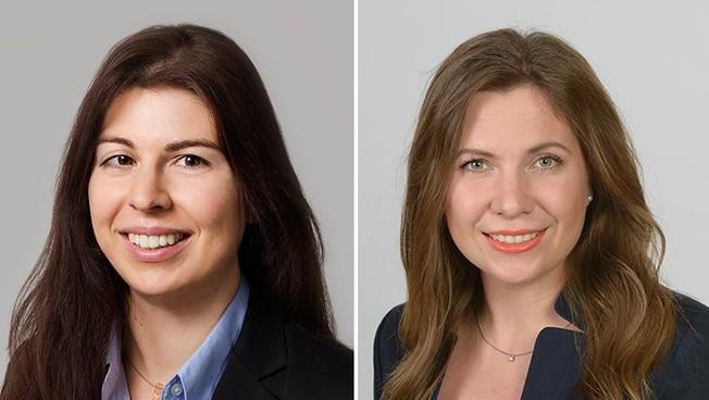 Prof. Dr. Eva Bittner (l.) und Dr. Sarah Oeste-Reiß