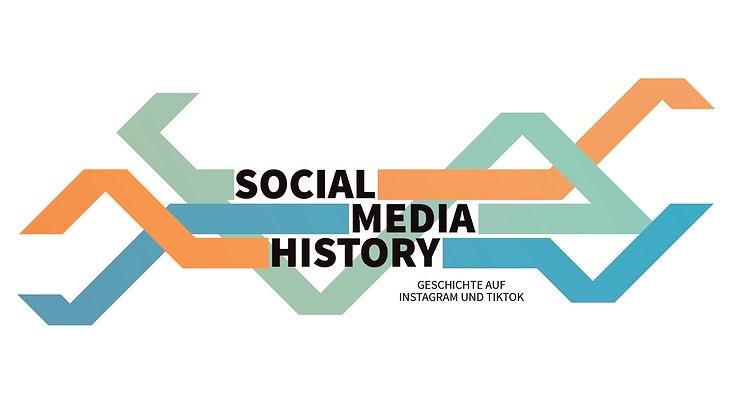 """Logo des Verbundprojektes """"SocialMediaHistory. Geschichte auf Instagram und TikTok"""""""