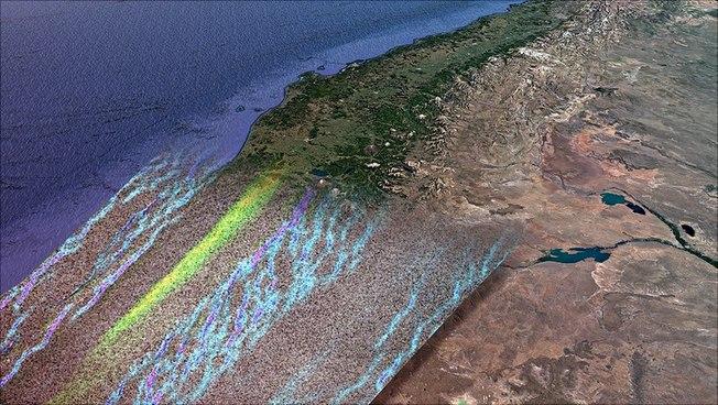 Luftaufnahme der Anden