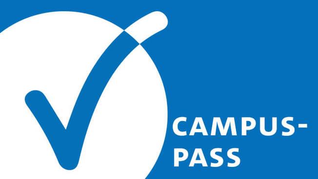 Studierende brauchen im Wintersemester bei der Teilnahme an Präsenzveranstaltungen den Campus-Pass