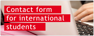 Contact form for international students