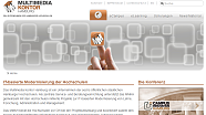 Screenshot der Website des MMKH