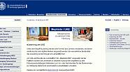 Screenshot der Homepage der Arbeitsgruppe eLearning
