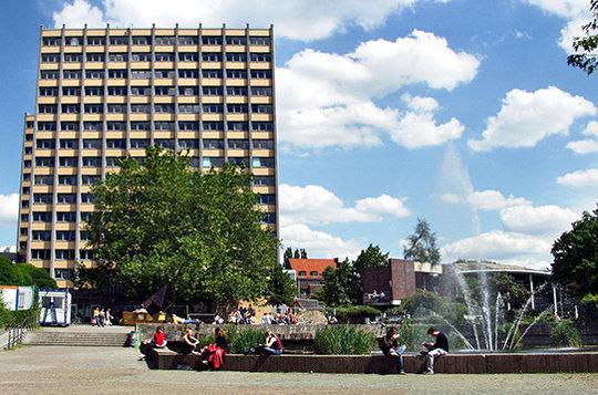 Campus-Teich am Philosophenturm