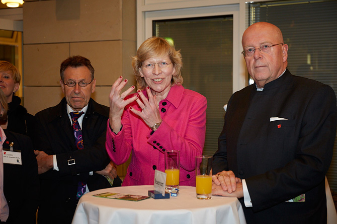 Begrüßung im ESA-Ost