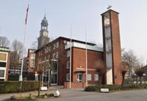 Die dänische Seemannskirche in Hamburg
