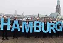 Der Kirchentag 2013 findet in  Hamburg statt.