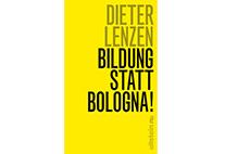 "Book cover ""Bildung statt Bologna"""