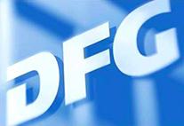 Logo (Buchstaben DFG) der Deutschen Forschungsgemeinschaft