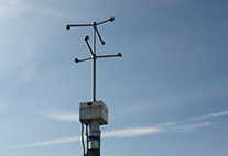 Ultrasound wind gauge