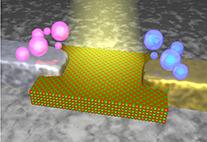 Schema einer Solarzelle