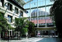 Foyer des Westflügels der Universität Hamburg