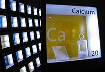 Calcium im Periodensystem der Elemente des Griffith Park Observatory