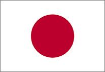 Flagge Japans