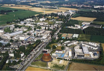 CERN premises from air