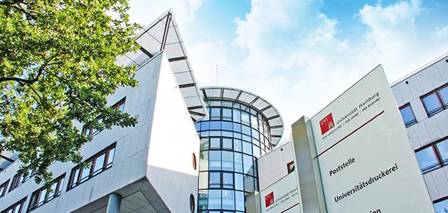 Verwaltungsgebäude der Universität Hamburg im Mittelweg 177