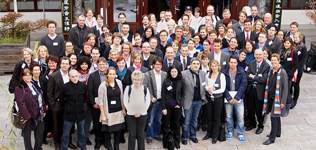Gruppenbild Universitätskolleg 2012