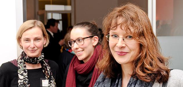 Gleichstellungsbeauftragte an einem Veranstaltung